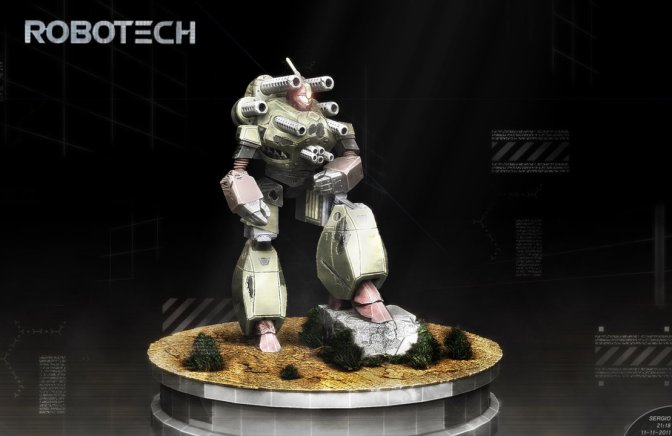 Robotech is back in town… Robotech RPG Tactics