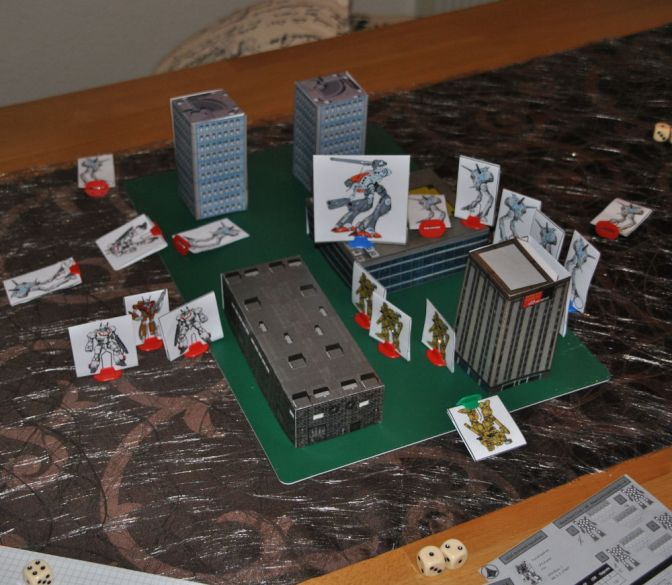 Robotech RPG Tactics – Spielbericht I