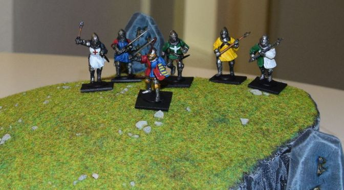 Unit-Cards and RetinueCreator for LION RAMPANT