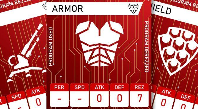 Cyberpunk RED Netrunner Cards