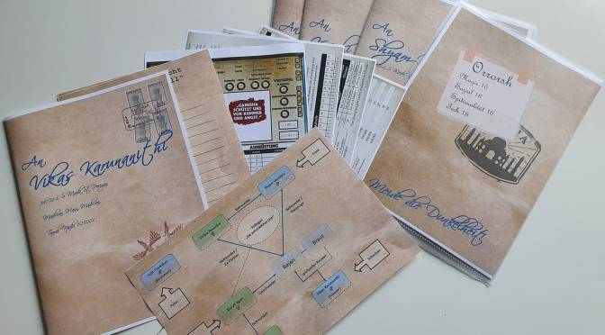 TORG Eternity – TAG 1 Orrorsh – Handout-Paket